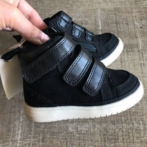 New Baby Gap Velcro High Tops NWT